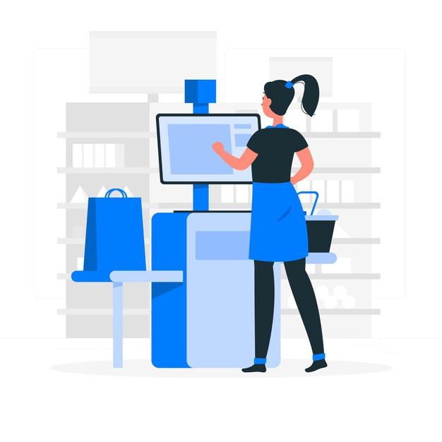 self checkout concept illustration 114360 2331