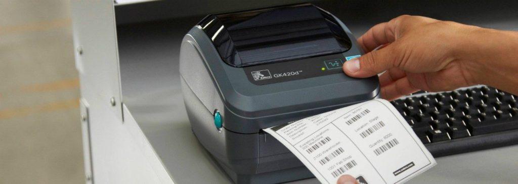 принтер этикеток zebra 420d